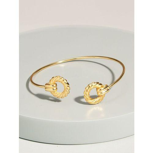 Pipa Bella gold cuffs bracelet