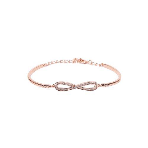 Jewels Galaxy multi colored brass links bracelet