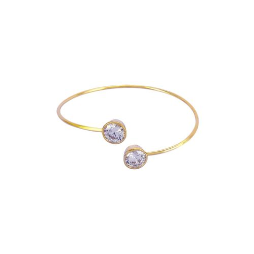Faryal gold metal bangle bracelet