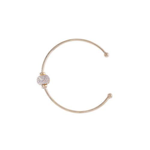 Jewels Galaxy gold brass cuffs bracelet