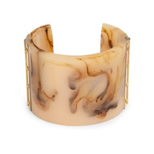The Vanca printed plastic bracelet