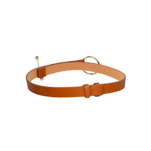 Globus brown polyester belt