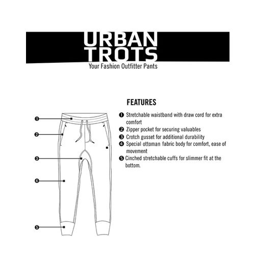 PROLINE Mid-Rise Joggers with Insert Zip Pockets