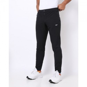Reebok Slim Fit Track Pants with Zipper Pockets