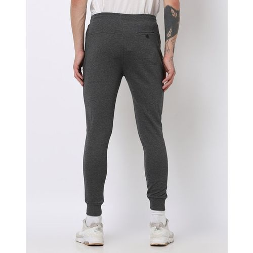 PROLINE Heathered Slim Fit Joggers with Drawstring Waistband