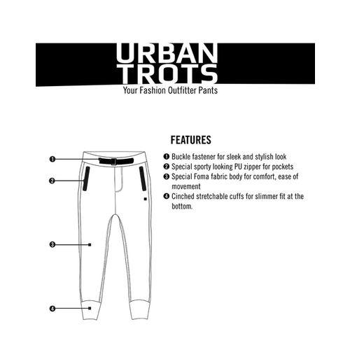 PROLINE Heathered Joggers with Zipped Pockets