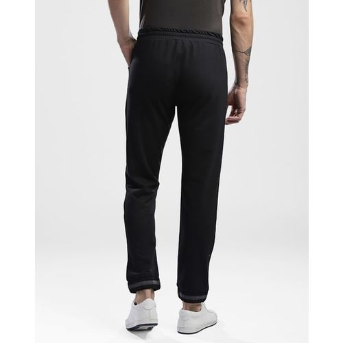 Hubberholme Slim Fit Mid-Rise Joggers with Elasticated Drawstring Waist