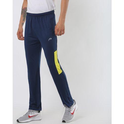 PROLINE Colourblock Track Pants with Elasticated Waistband