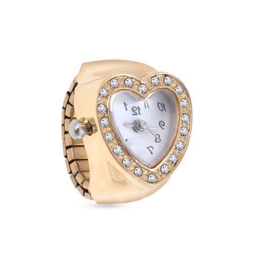 Fasherati gold metal ring
