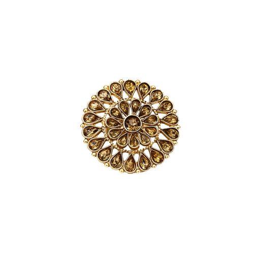 VK Jewels gold metal finger ring