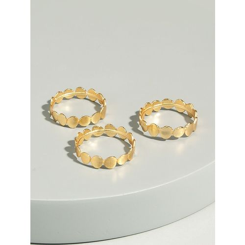 Pipa Bella gold brass finger ring