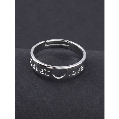 Silver Shine silver plated finger ring