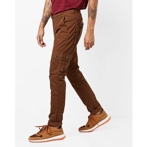 Hubberholme Mid-Rise Slim Fit Cargo Pants