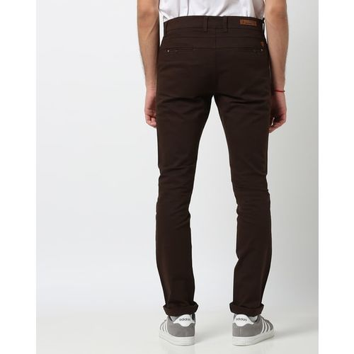 BREAKPOINT Slim Fit Trousers With Slip Pockets