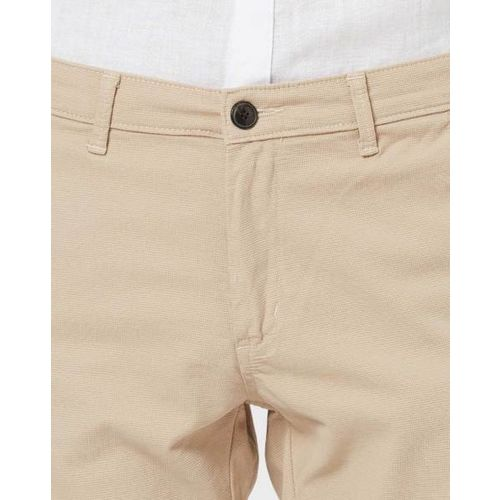 SIN Knitted Flat-Front Trousers
