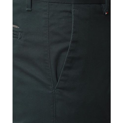 PETER ENGLAND Solid Mid-Rise Trousers
