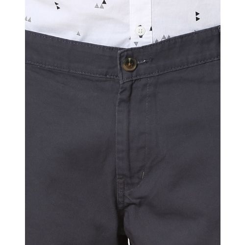 Hubberholme Slim Fit Flat-Front Chinos