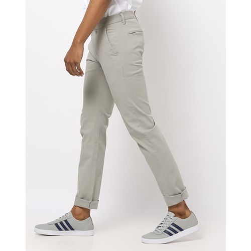 ARROW Slim-Fit Trousers with Insert Pockets