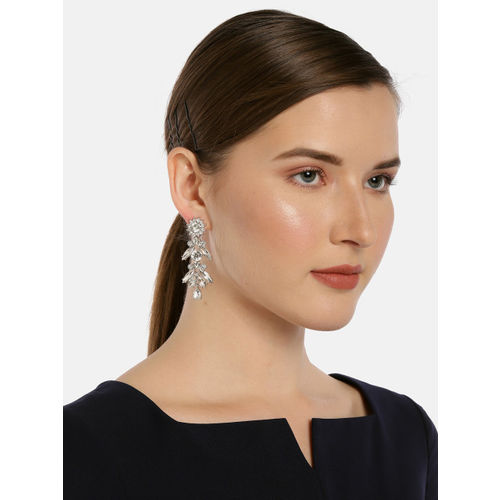 Accessorize Silver-Toned Contemporary Drop Earrings