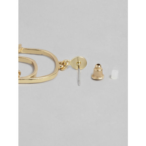Accessorize Gold-Toned Quirky Drop Earrings