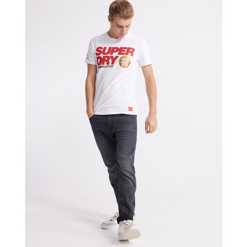SUPERDRY CNY Brand Print Tailored Fit T-shirt
