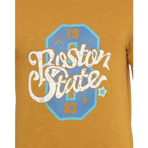 PEOPLE Graphic Print Regular Fit Crew-Neck T-shirt