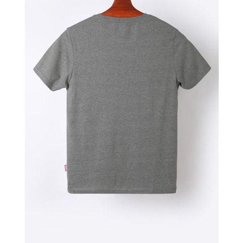 AJIO Avengers Print Slim Fit Crew-Neck T-shirt
