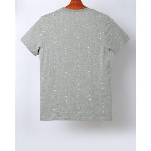 AJIO Micro Print Slim Fit Shirt