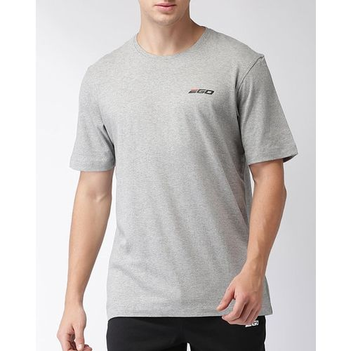2Go Heathered Crew-Neck Football T-shirt