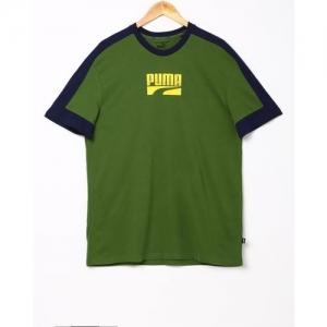 Puma Slim-Fit T-shirt with Signature Branding
