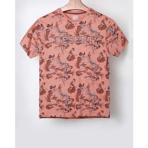 DNMX Floral Print Crew-Neck T-shirt
