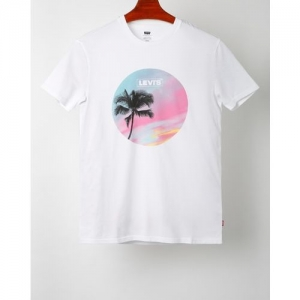 LEVIS Graphic Print Crew-Neck T-shirt