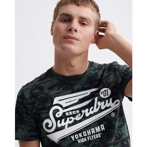 SUPERDRY SUPER 5'S Typographic Print Crew-Neck T-shirt