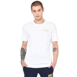 Puma Crew-Neck T-shirt with Signature Branding