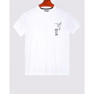 AJIO Slim Fit Graphic Print T-shirt