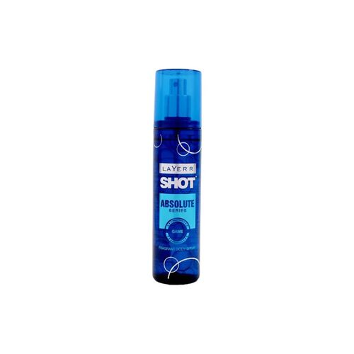 Layerr layer'r shot absolute series game body spray, 135ml (pack of 2)
