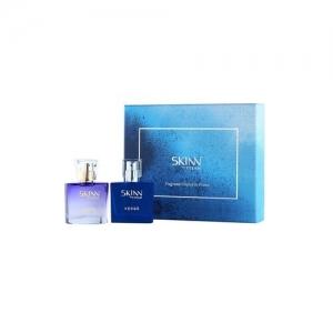 skinn by titan fp01pg2 miniature pair eau de parfum, verge and sheer, 25ml (pack of 2)