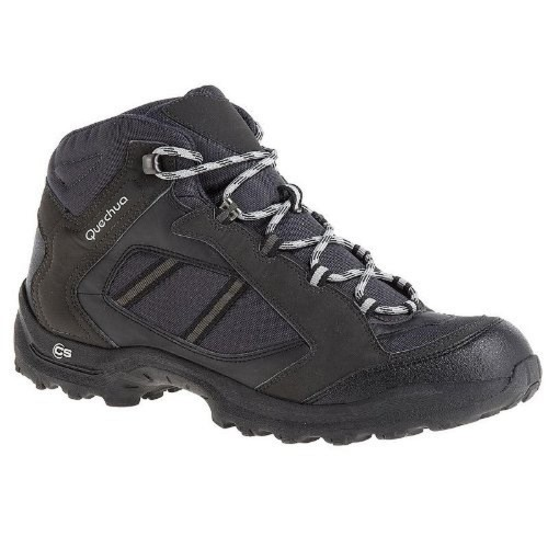 Quechua Quechua Forclaz 50 Shoes, 10.5 UK (Black)