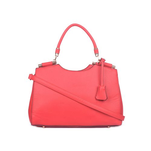 Bagkok red leatherette (pu) regular handbag