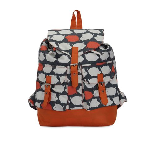 Vivinkaa multicolored canvas printed back pack