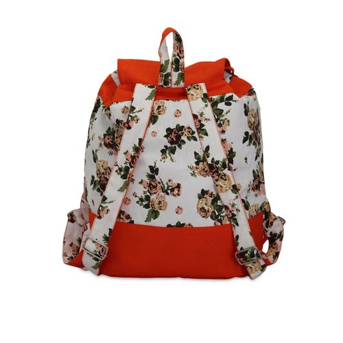 Vivinkaa multi colored canvas backpack