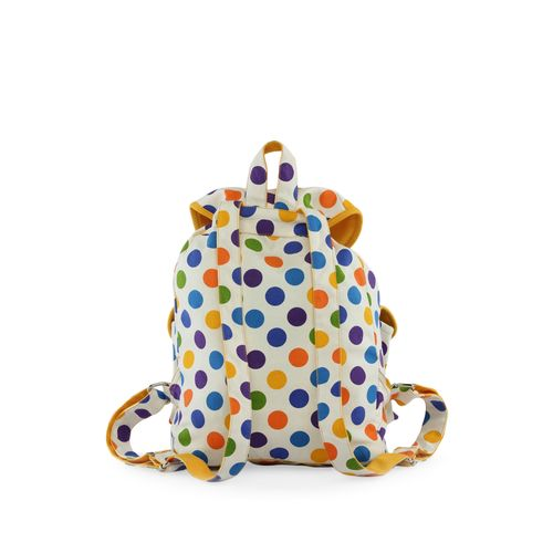 Vivinkaa multi colored cotton backpack