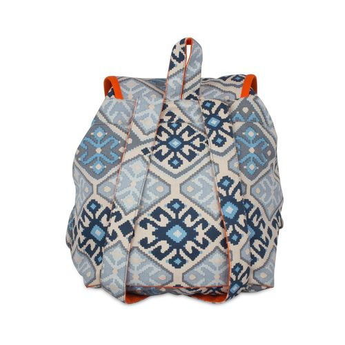 Vivinkaa multi colored canvas printed backpack