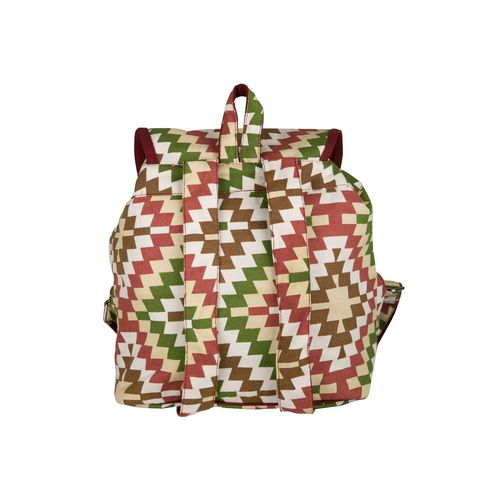 Vivinkaa multi colored canvas backpack