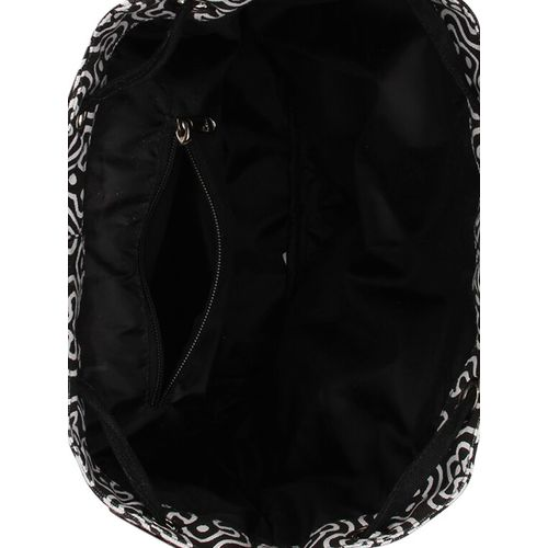 Vivinkaa black canvas backpack