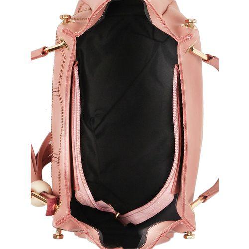 Vivinkaa pink leatherette regular handbag