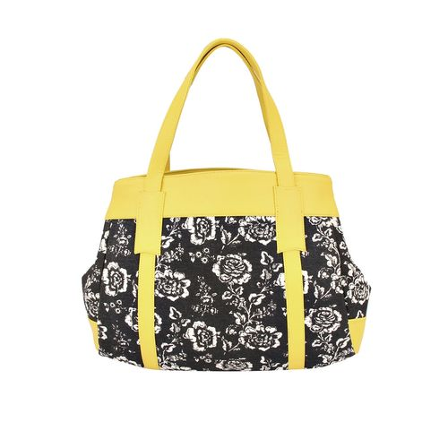 Vivinkaa multi colored canvas handbag