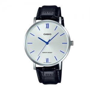 Casio Enticer Men Silver Analogue watch A1617