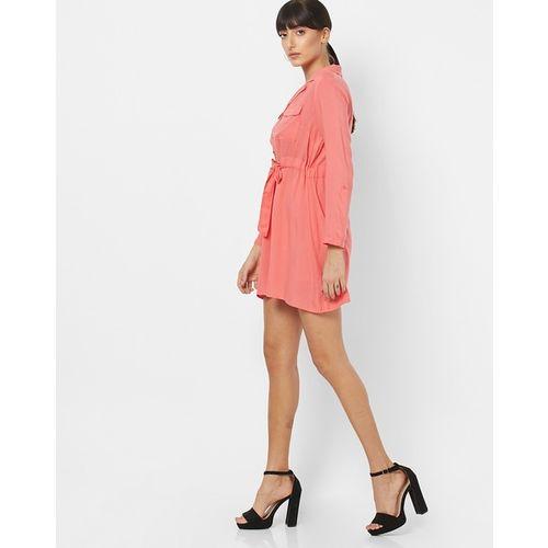 Oxolloxo Bella Romanova A-line Dress with Waist Tie-Up