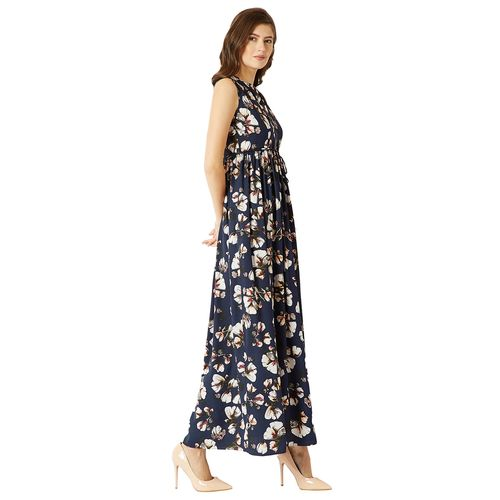 Miss Chase gathered detail floral maxi dress